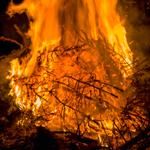 Leuchtkasten Feuer