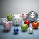 Lightbox Piggy Banks