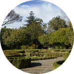 Leuchtkasten Garten